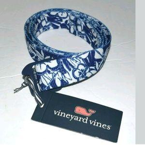 Vinyard Vines Floral Bottle Opener Belt